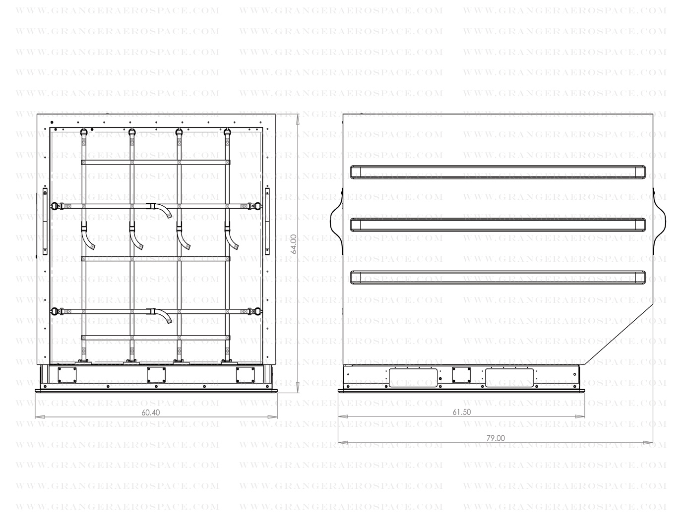 LD 3 Dimensions, LD 3 Air Cargo Container Dimensions, AKN dimensions
